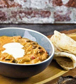Melanzani – Kokos Curry mit Huhn, wahrlich ein Genuss