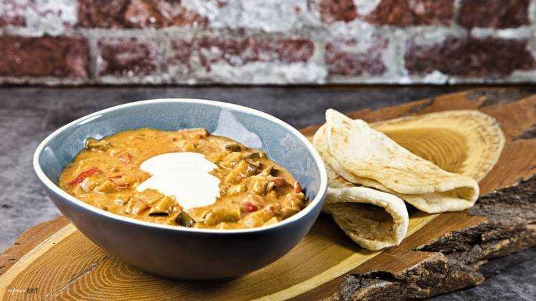 Kokos Curry mit Huhn Rezept