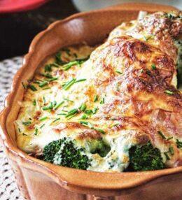 Brokkoli Karfiol Auflauf, garantiert schmackhaft