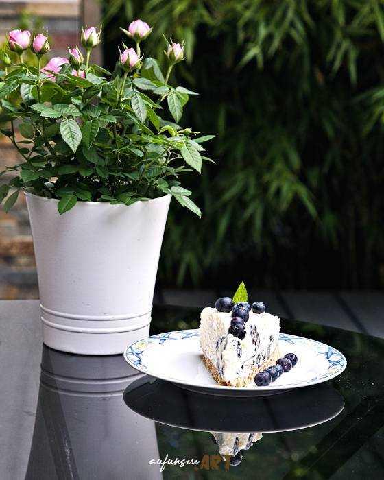 Heidelbeer Maskarpone Torte