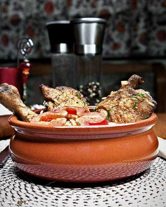 Butter Chicken auf dem Reisbett Rezept