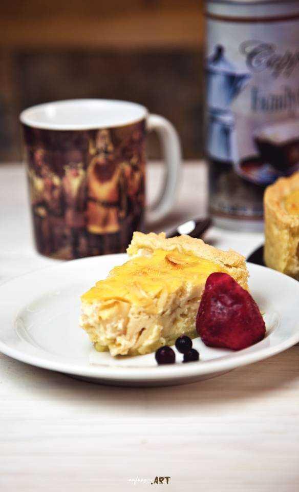 Apfel Rahm Kuchen Rezept