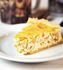 Apfel Rahm Kuchen, ein Genuss mit Erinnerungen an Oma