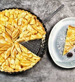 Apfel Birnen Tarte ein knuspriger & süßer Genuss