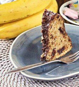Bananen Gugelhupf, saftig & fluffig