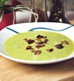 Brokkoli Creme Suppe – warm aber auch kalt ein Genuss