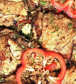 Butter Chicken auf dem Reisbett, einfach himmlisch und zart