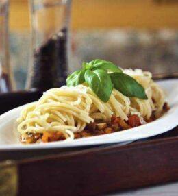 Gemüse Spaghetti, der fleischlose & schnelle Genuss