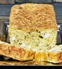 Kräuter Feta Brot – belegt es den Gaumen erregt