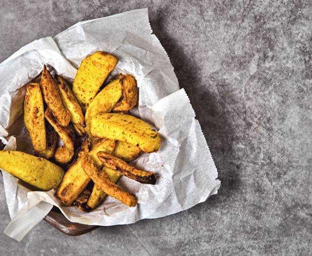 gemischte Kartoffelspalten (Wedges) Rezept