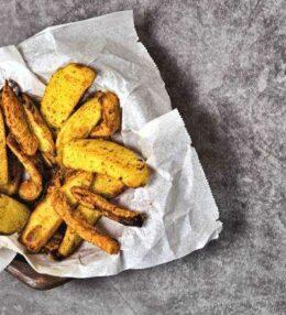 gemischte Kartoffelspalten (Wedges), problemlos und schnell gemacht