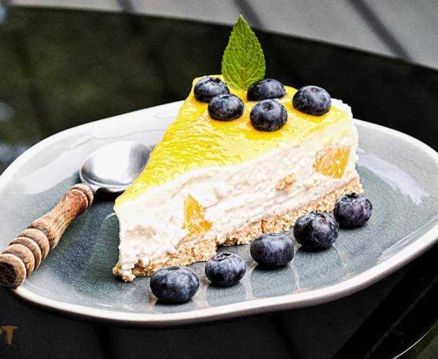 Pfirsich Kokos Cheesecake Rezept