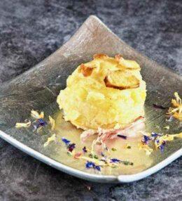 Kartoffel Muffins mit Speck