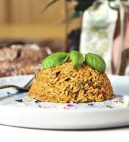 Reisfleisch oder eine Art Geschnetzeltes, Genuss am Gaumen