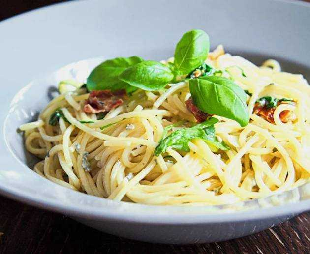 Spaghetti Gorgonzola Rezept