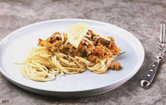 Spaghetti a la Zitronen Ragout Rezept