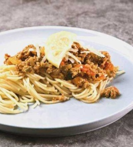 Spaghetti a la Zitronen Ragout