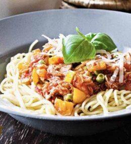 Thunfisch Spaghetti – schnell und einfach