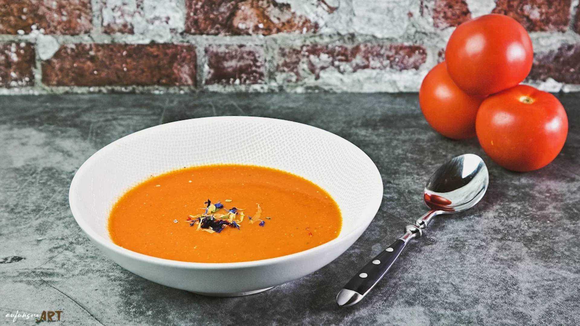 Tomatencreme Suppe Rezept