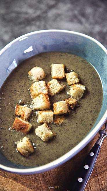 Champignon Creme Suppe Abbildung 1