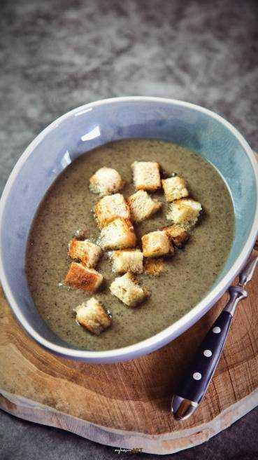 Champignon Creme Suppe Abbildung 2