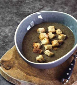 Champignon Creme Suppe vom braunen Champignon – Genuss pur