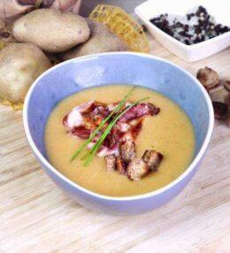 Kartoffelcreme Suppe, über Generationen begeistert