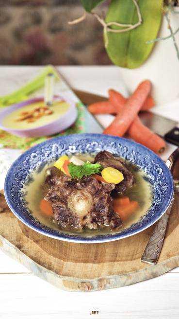 Ochsenschwanz Suppe Rezept