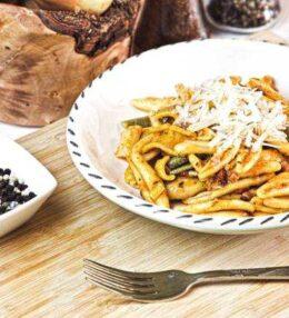 Pasta Amatriciana – auf unsere Art verfeinert