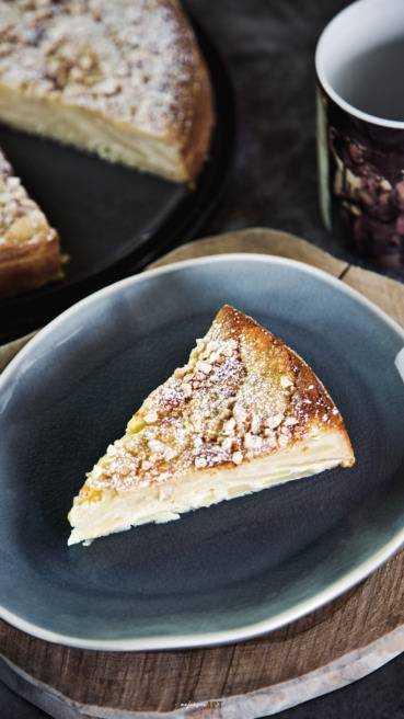 Spanische Apfel Mandel Torte Abbildung 1