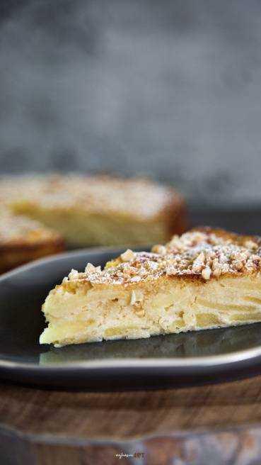 Spanische Apfel Mandel Torte Abbildung 2