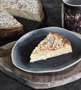 spanische Apfel Mandel Torte, optimal für Kaffeerunden