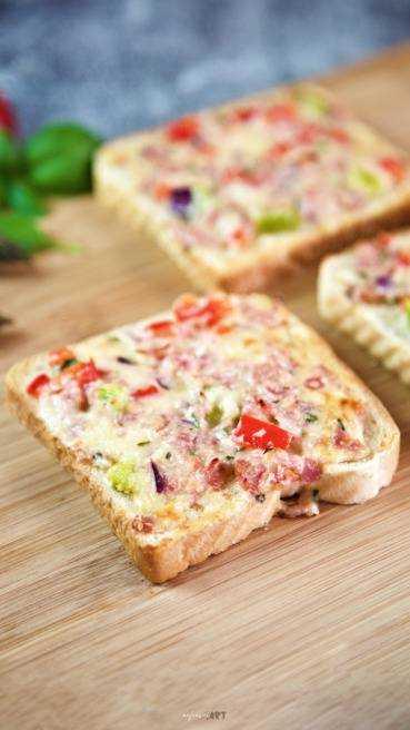 Pizza Toast Abbildung 1