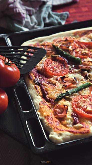 Pizza vom Blech Abbildung 1