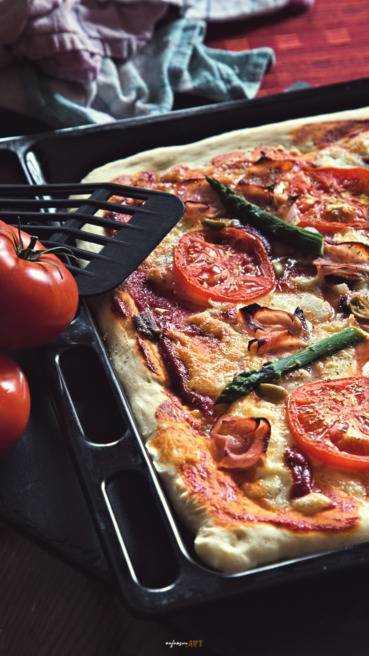 Pizza vom Blech Abbildung 2