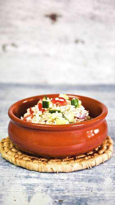 Reis Salat Abbildung 1