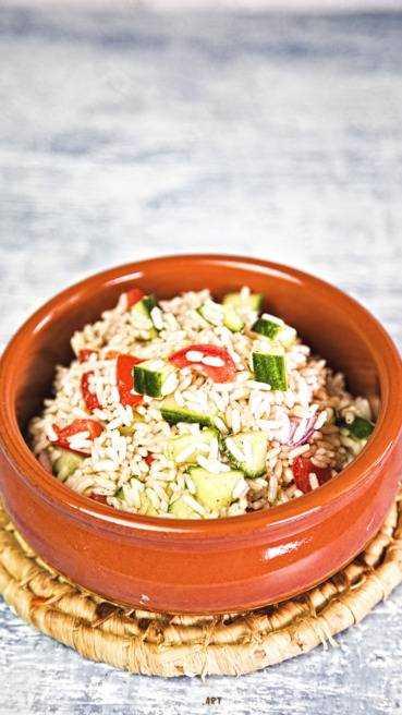 Reis Salat Abbildung 2