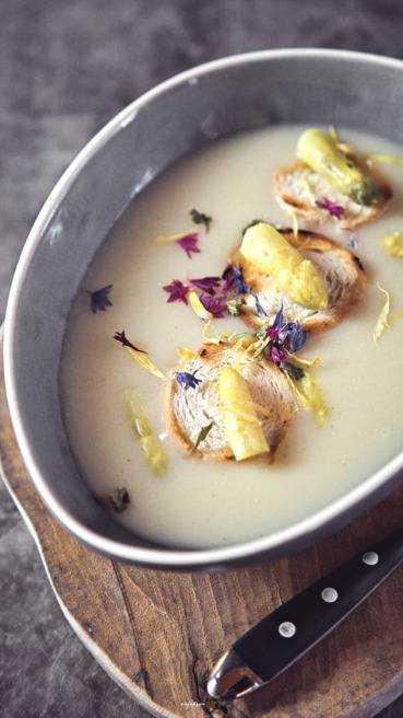 Spargel Creme Suppe Abbildung 1