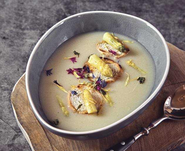Spargel Creme Suppe Rezept