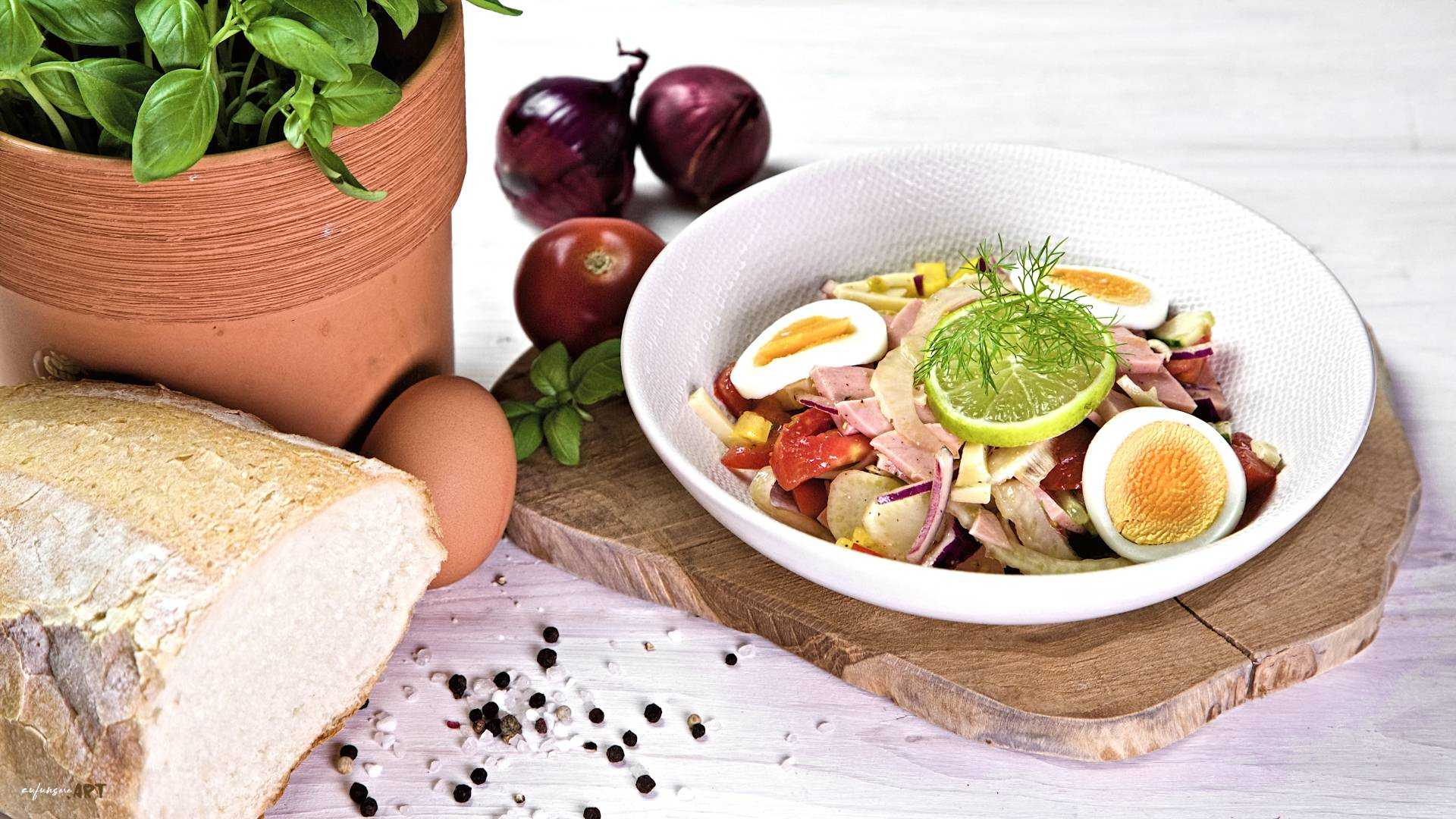 graeflicher Wurstsalat Rezept
