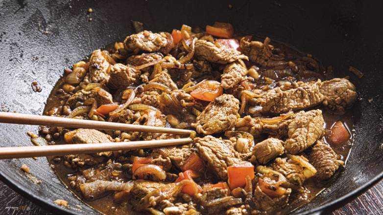 Asiapfanne Mungbohnen Schwein Rezept