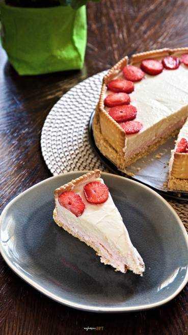 Erdbeer Kokos Mascarpone Torte Abbildung 2