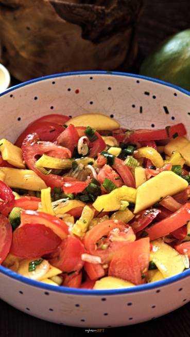 Mango Salat Abbildung 2