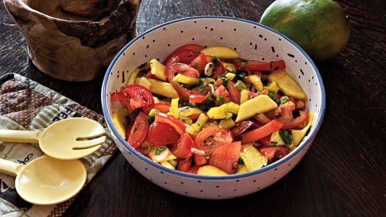 Mango Salat Rezept