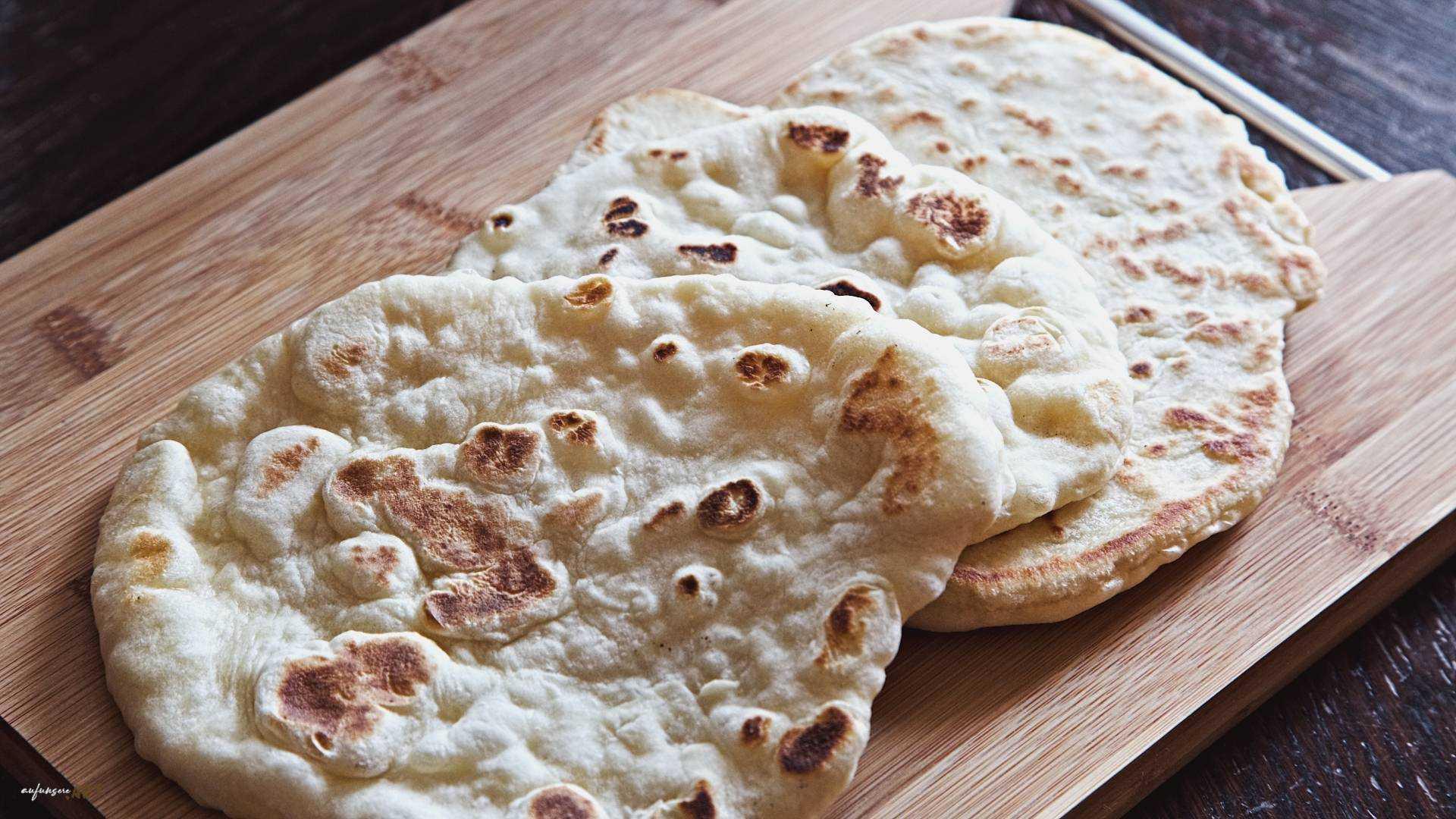 Naan Brot, das schnellste und beste Brot überhaupt