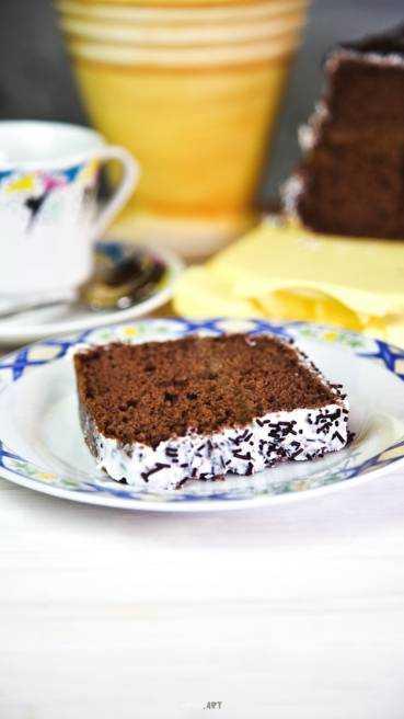 Schoko Kuchen mit Marmelade Abbildung 1