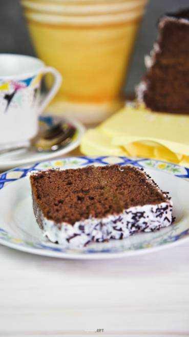 Schoko Kuchen mit Marmelade Abbildung 2
