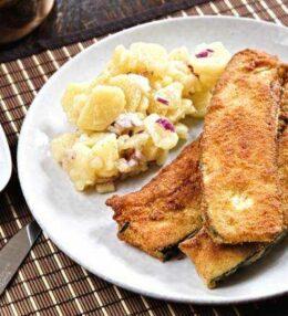 Zucchini Cordon Bleu, einfach und schnell gemacht