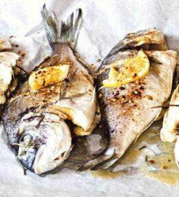 gebratene Dorade marokkanisch, einfach orientalisch