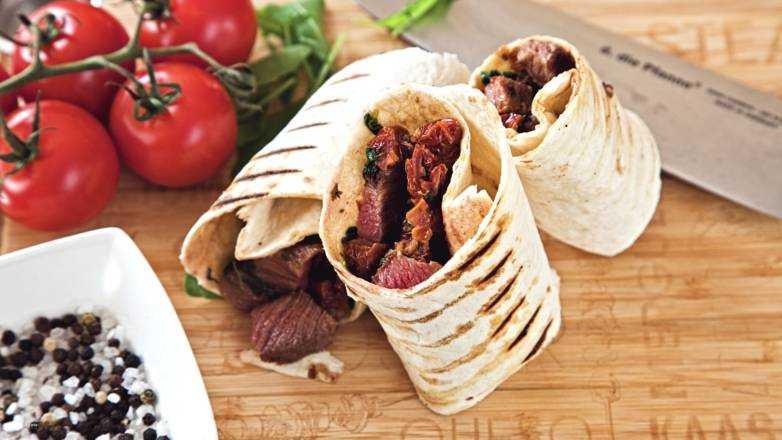 Beef Wrap Rezept
